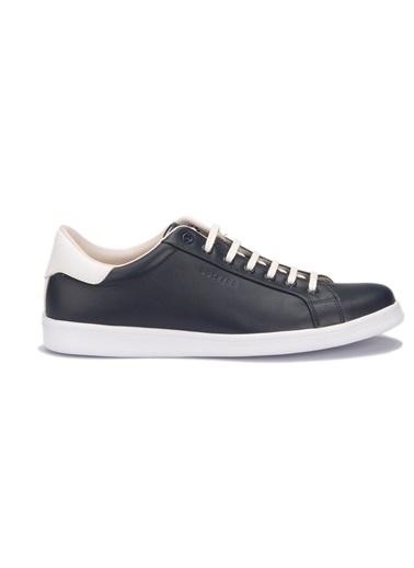 Dockers by Gerli %100 Deri Sneaker Lacivert